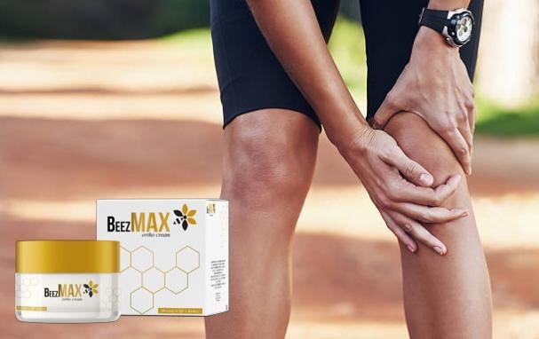 beezmax, uomo con dolore al ginocchio